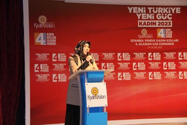 Ak Parti Pendik Kadın Kolları Başkanı Öznur Canayakın oldu 16