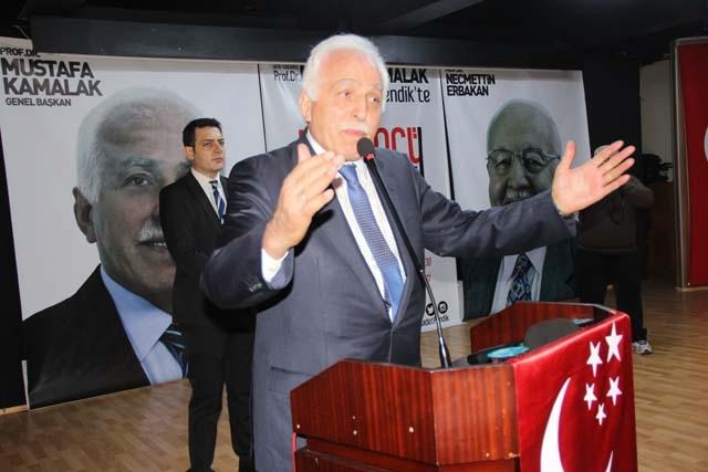 Saadet Partisi Genel Başkanı Pendik'te Konuştu 1