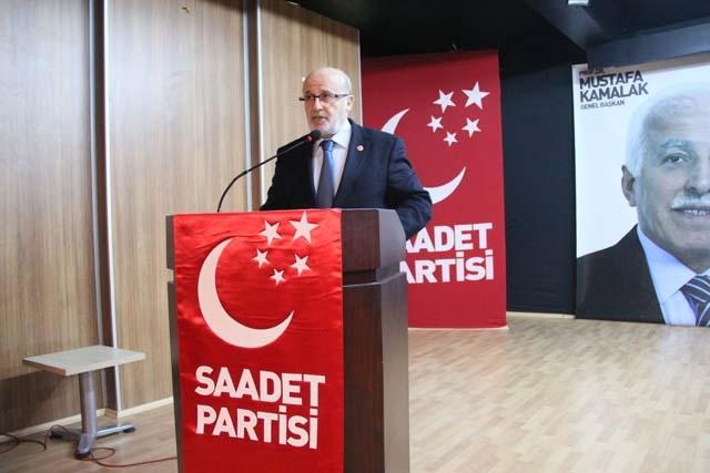 Saadet Partisi Genel Başkanı Pendik'te Konuştu 3