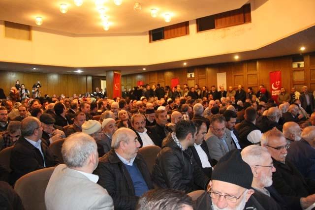 Saadet Partisi Genel Başkanı Pendik'te Konuştu 5