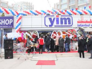 Yeni İstanbul Marketi'nin Açılışı Gerçekleşti