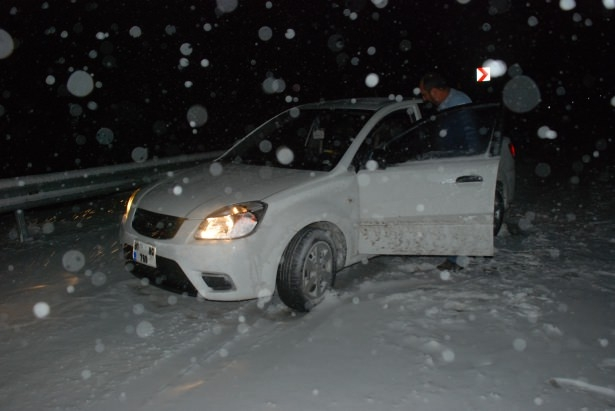 Beklenen Kar Yağışı Başladı 3
