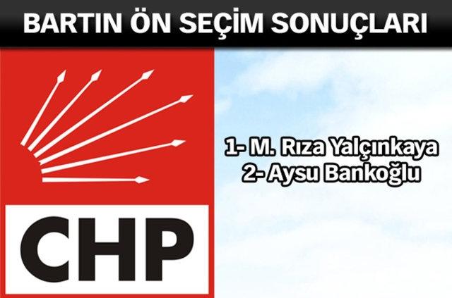 CHP İl, İl Ön Seçim Sonuçları 12