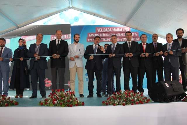 Velibaba Akşemseddin Kültür Merkezinin Açılış Törenin Foto galerisi 17