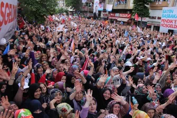 Pendik, Ahmet Davutoğlu'nu Çamçeşme'de ağırladı - FOTO GALERİ 12