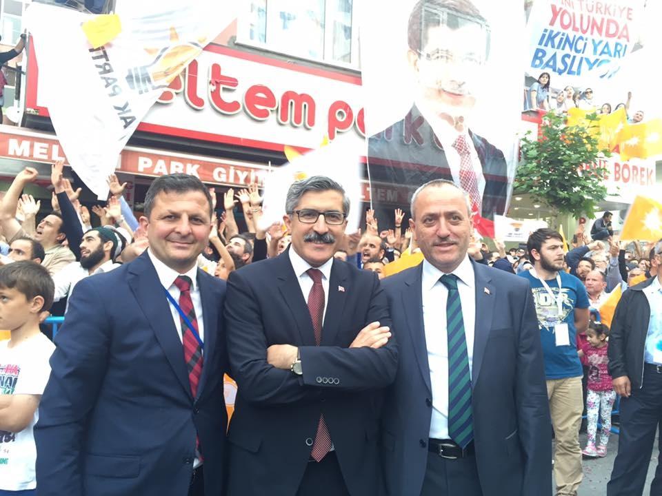 Pendik, Ahmet Davutoğlu'nu Çamçeşme'de ağırladı - FOTO GALERİ 21
