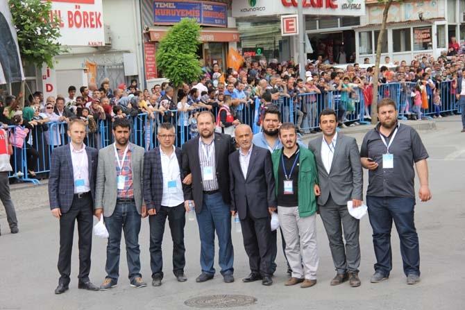 Pendik, Ahmet Davutoğlu'nu Çamçeşme'de ağırladı - FOTO GALERİ 3