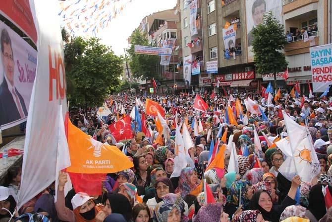 Pendik, Ahmet Davutoğlu'nu Çamçeşme'de ağırladı - FOTO GALERİ 6