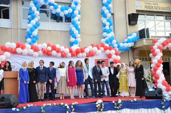 Fatih Anadolu'da Lisesi Mezuniyet töreni - Foto Galeri 11