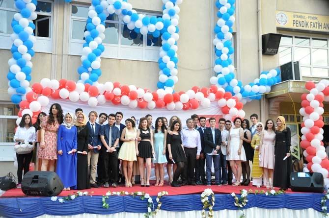 Fatih Anadolu'da Lisesi Mezuniyet töreni - Foto Galeri 12