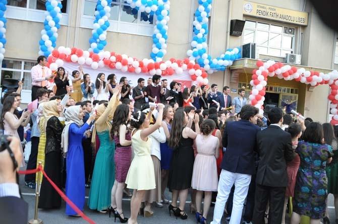 Fatih Anadolu'da Lisesi Mezuniyet töreni - Foto Galeri 14