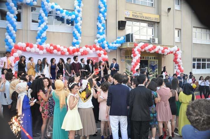 Fatih Anadolu'da Lisesi Mezuniyet töreni - Foto Galeri 16