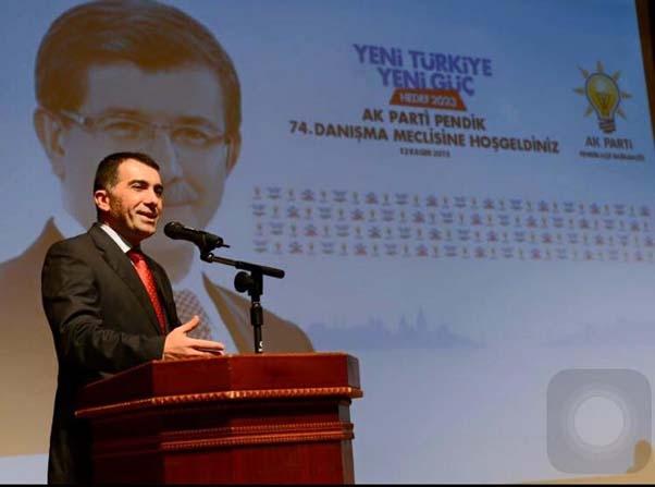 AK Parti Pendik'in 74. Danışma Meclisi Fotoğrafları 1