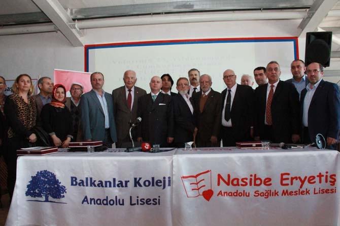 Turgut Özal Balkanlar Kolejinde anıldı! 15