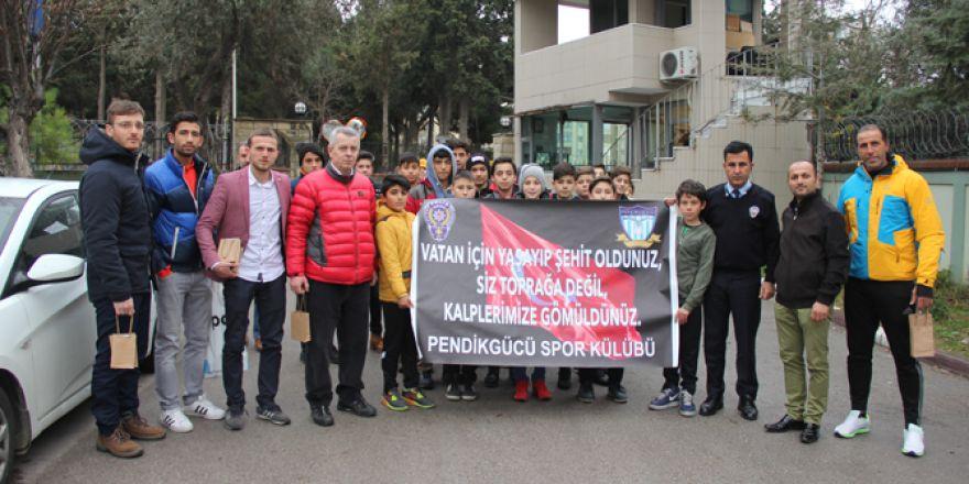 Genç sporculardan, Emniyete duygulandıran ziyaret