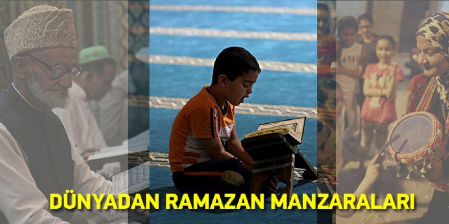 Dünyadan Ramazan Manzaraları