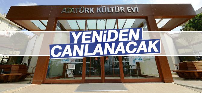 Pendik Atatürk Kültür Merkezi restorasyon ile canlanacak