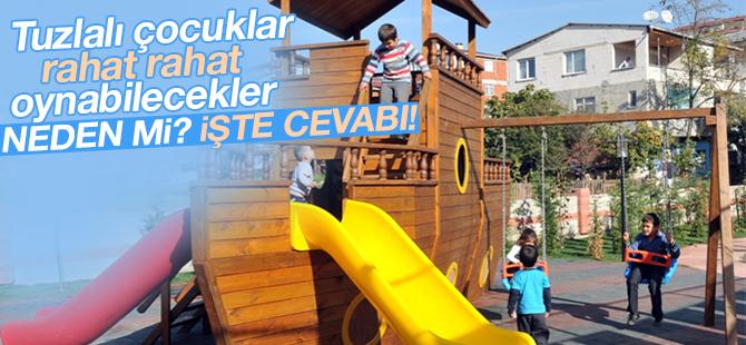 Tuzlalı Çocuklar Parkta Güvenle Oyun Oynayabilecek
