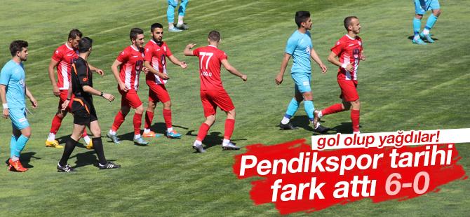 Pendikspor'dan Küme Düşen Pazarspor'a Gol Yağmuru! 6-0