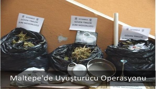 Maltepe´de Uyuşturucu Operasyonu