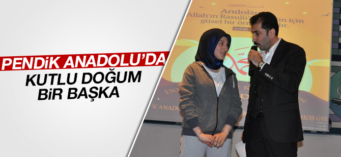 Pendik Anadolu'da Kutlu Doğum Bir Başka