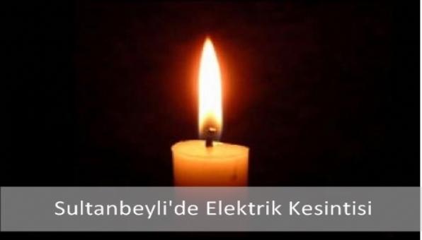 Sultanbeyli´de Elektrik Kesintisi