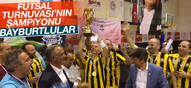 Futsal Turnuvası'nın Şampiyonu Bayburtlular