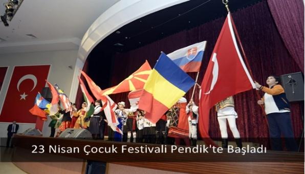 23 Nisan Çocuk Festivali Pendik´te Başladı