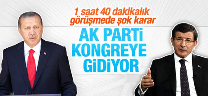 AK Parti'de Şok Kongre Kararı! Başbakan Davutoğlu Aday Olmayacak