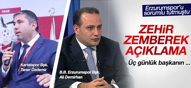 Taner Özdemir'e Zehir Zemberek Sözlerle Cevap Verdi! Üç Günlük başkanın ...