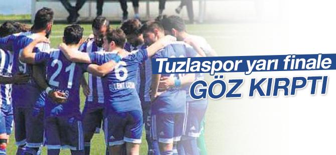 Tuzlaspor PTT 1. Lig Yolunda yarı finale göz kırptı