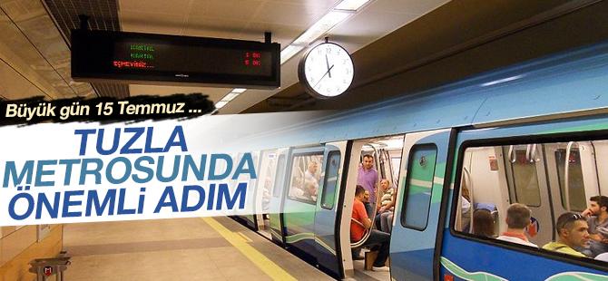 Tuzla Metrosunda Önemli Adım