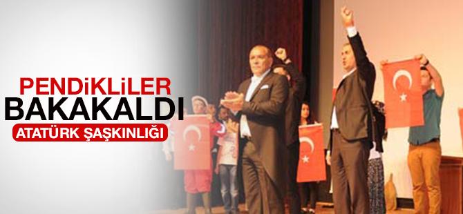Pendikli CHPliler Atatürk'e Bakakaldı
