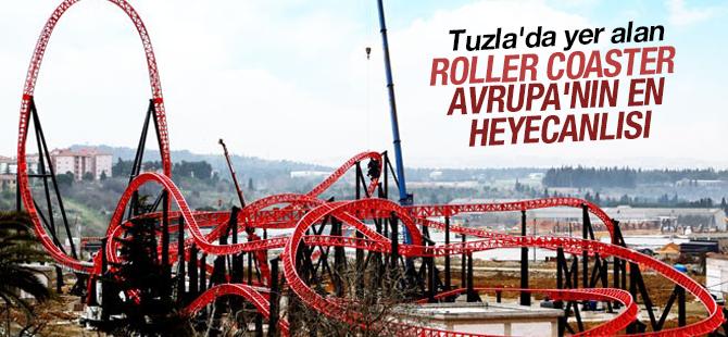 Tuzla'da Yer Alan Roller Coaster Avrupa'nın En Heyecanlısı İlan Edildi