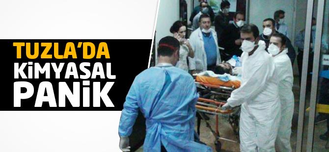 Tuzla'da Kimyasal Panik! Yaralı İşçiler Var