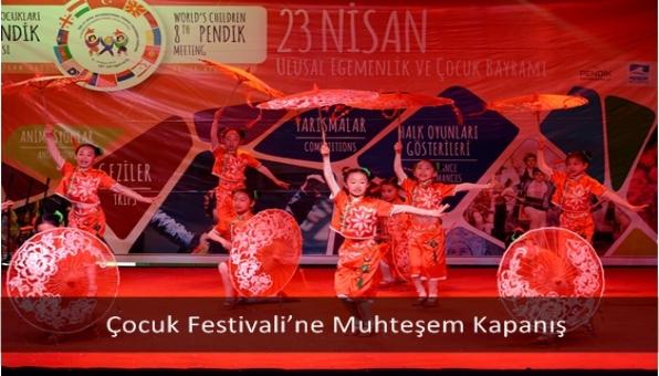 Çocuk Festivali'ne Muhteşem Kapanış
