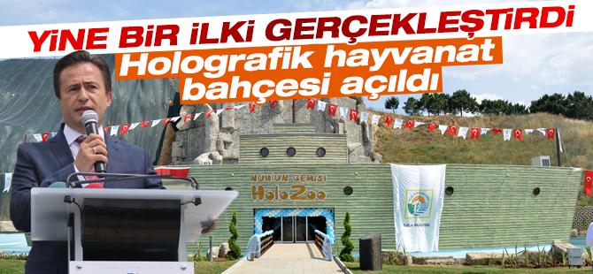 Türkiye'nin ilk 3 Boyutlu Hayvanat Bahçesi Açıldı
