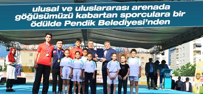 Pendik'in Ulusal ve Uluslararası turnuvalardaki başarısı dikkat çekti