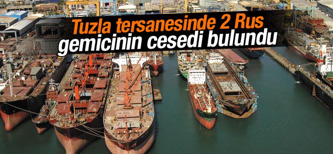 Tuzla Tersanesinde 2 Rus gemicinin cesedi bulundu