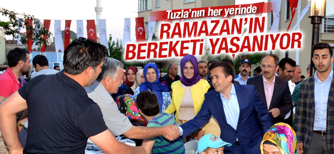Tuzla'nın Her Yerinde Ramazan'ın Bereketi Yaşanıyor