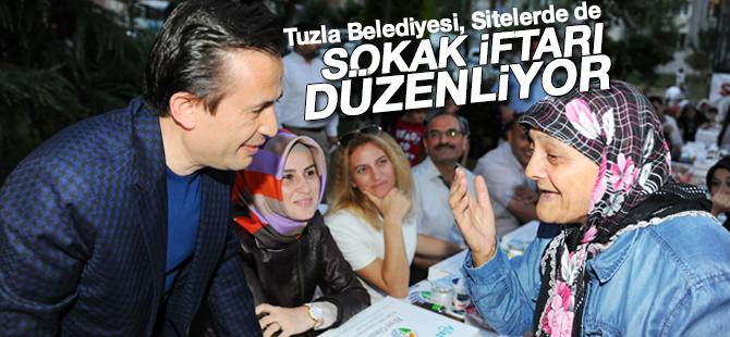 Tuzla Belediyesi, Sitelerde de Sokak İftarı Düzenliyor