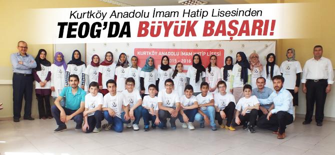 Kurtköy Anadolu İmam Hatip Lisesi'nden TEOG'da Büyük Başarı!