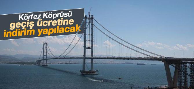 Körfez Köprüsü geçiş fiyatında indirim yapılacak