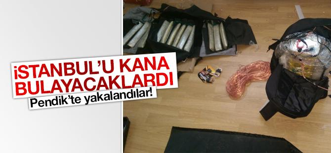 DAEŞ Militanları Pendik'te Canlı Bomba Yeleğiyle Yakalandı