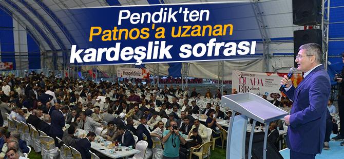 Pendik'ten Patnos'a uzanan Kardeşlik Sofrası