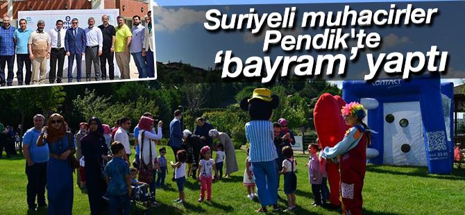 Suriyeli Muhacirler Pendik'te Bayram Yaptı!