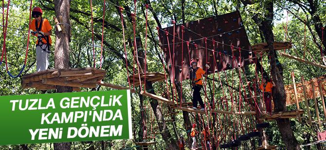 Tuzla Belediyesi Gençlik Kampı'nın Kapasitesi 2 Katına Çıkartıldı