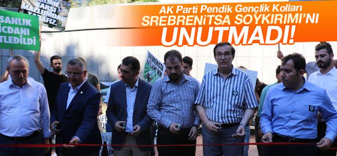 AK Parti Pendik Gençlik Kolları Srebrenitsa Soykırımını Unutmadı!