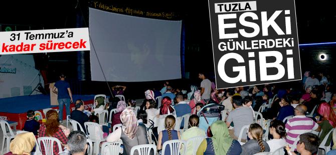 Tuzla'da Açık Hava Sinema günleri başladı