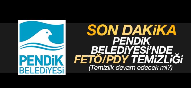 Pendik Belediyesi'nde FETÖ/PDY Temizliği: 4 Personel Görevden Alındı